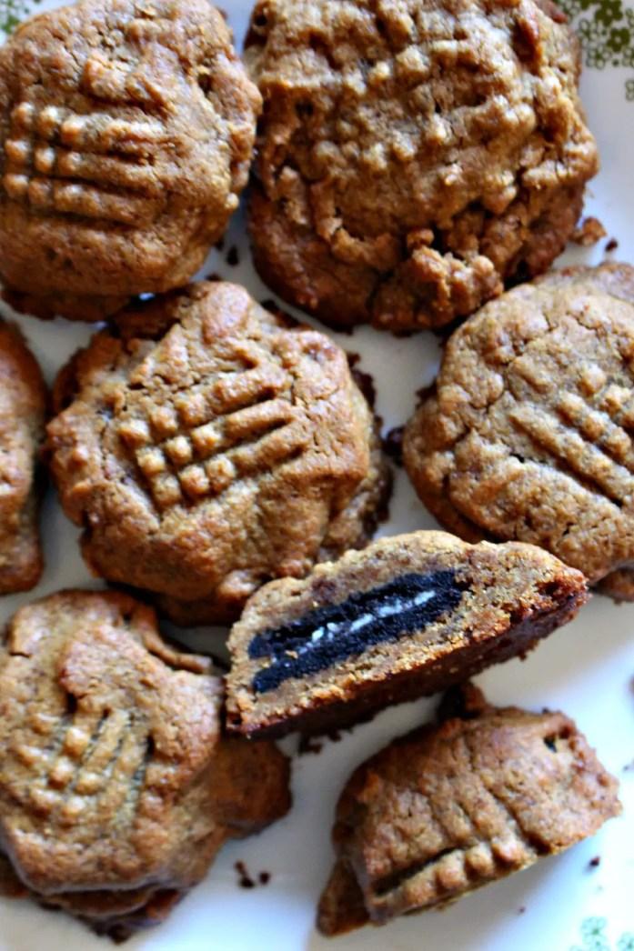 Oreo-Stuffed Peanut Butter Cookies 8--081715