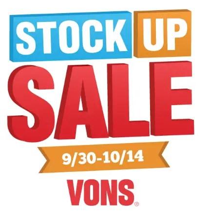 Stock Up Sale VONS