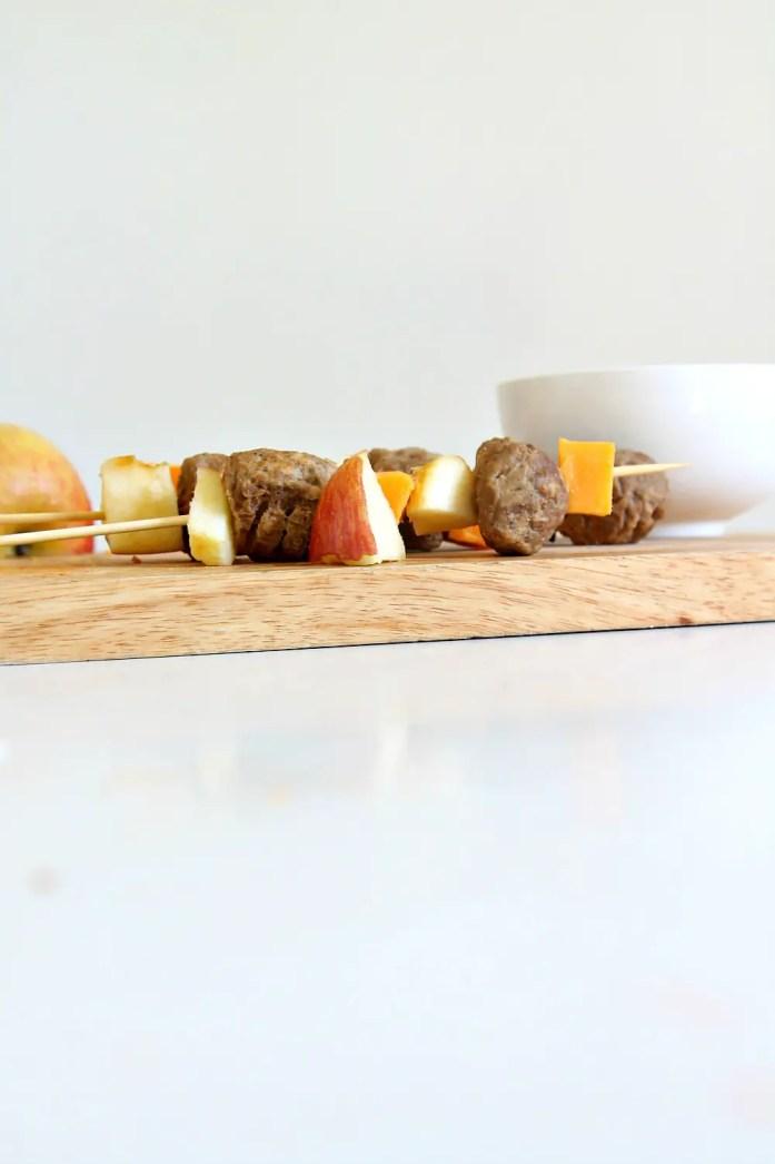 Apple Cheddar Veggie Meatball Skewers 10--101115