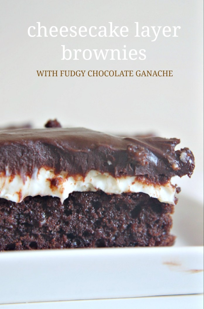 Cheesecake Brownies with Fudgy Chocolate Ganache 2--102115