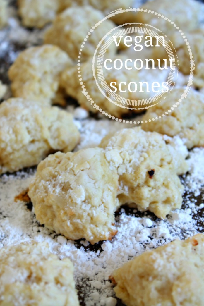 Vegan Coconut Scones 2--110815