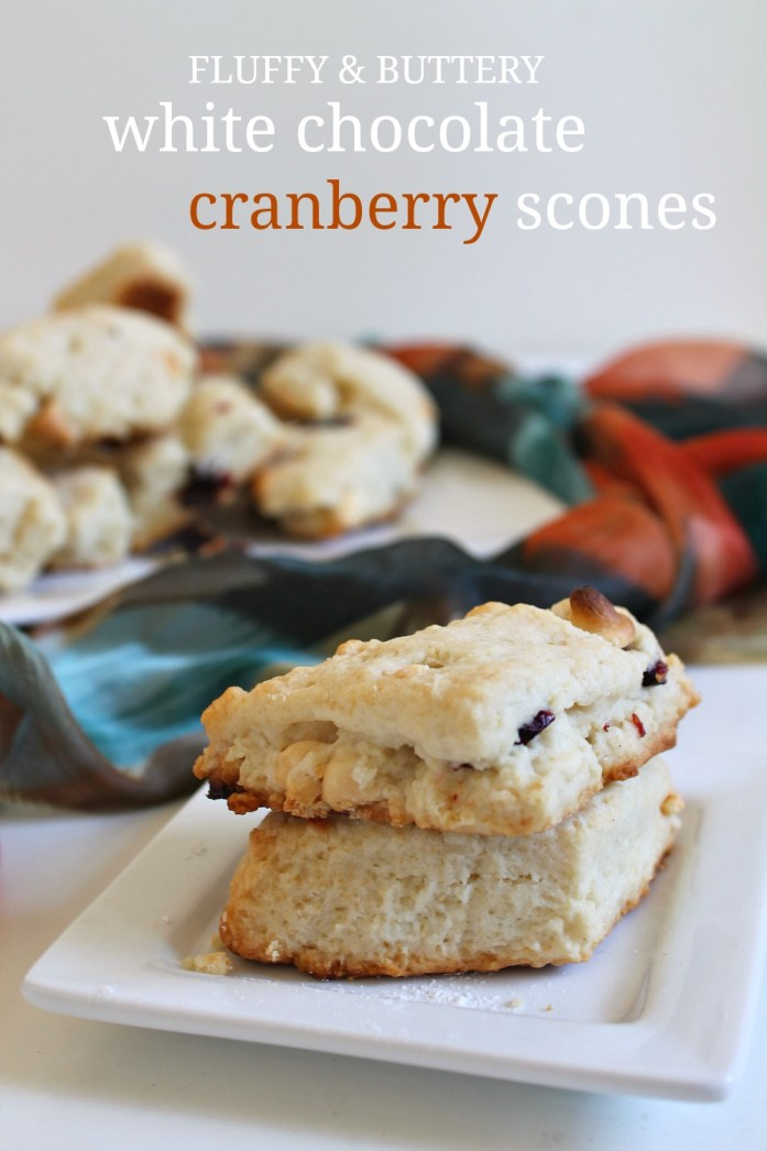 White Chocolate Cranberry Scones 2--112515