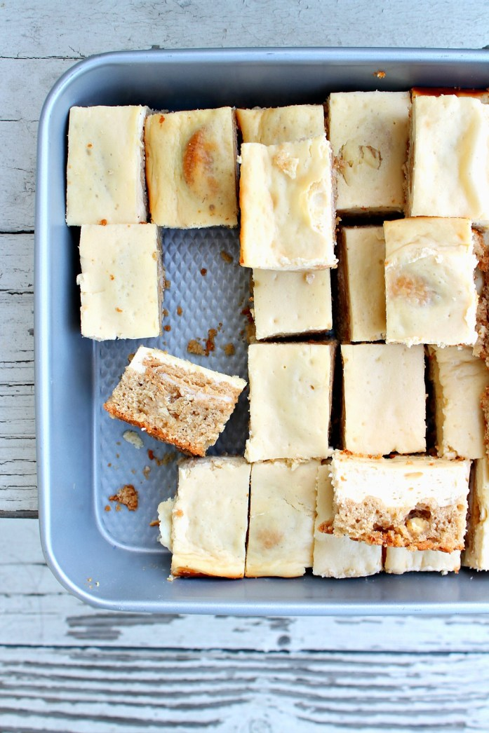 Golden Oreo-Stuffed Snickerdoodle Blondie Cheesecake Bars 7--121115