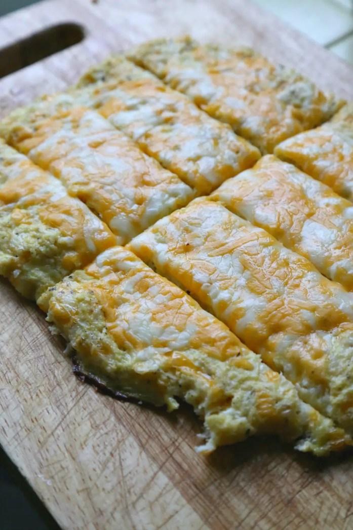 Cheesy Garlic Cauliflower Breadsticks 9--010616