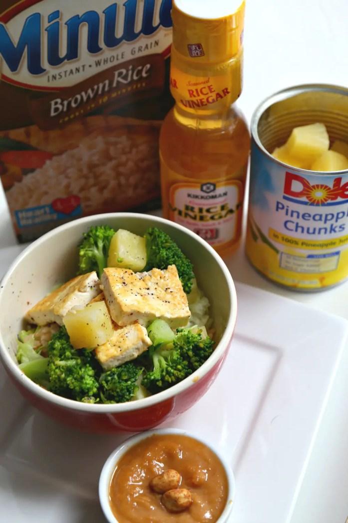 Tofu Pineapple Veggie Rice Bowl 4--020116