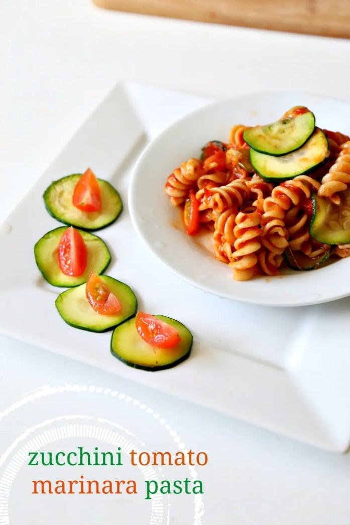 Zucchini Tomato Pasta Marinara OXO 5--022816