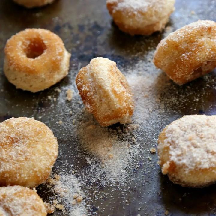 Mini Churro Donut Muffins