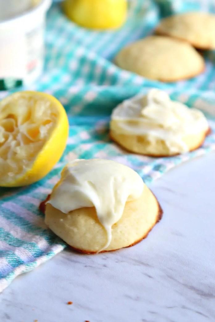 Lemon Ricotta Cookies with Lemon Cream Cheese Frosting 7--102616