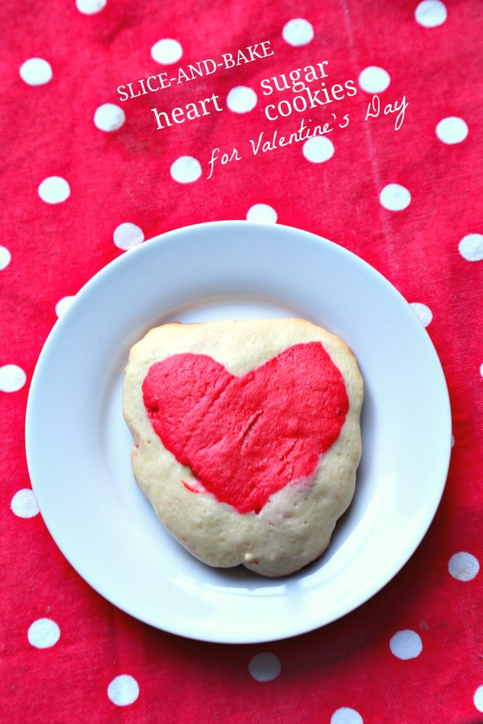 Slice and Bake Heart Sugar Cookies 13--012917