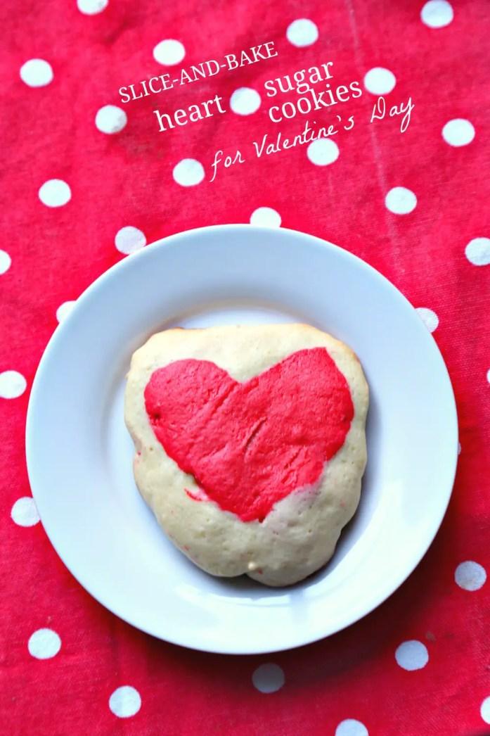 Slice and Bake Heart Sugar Cookies 13--012917