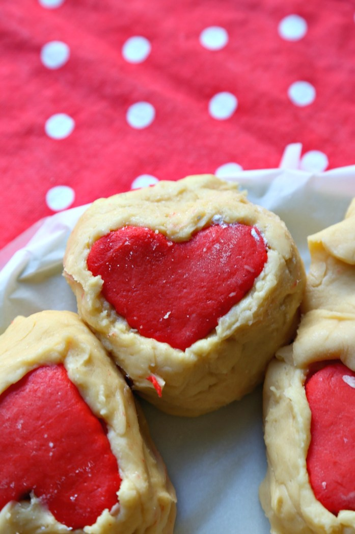 Slice and Bake Heart Sugar Cookies 8--012917