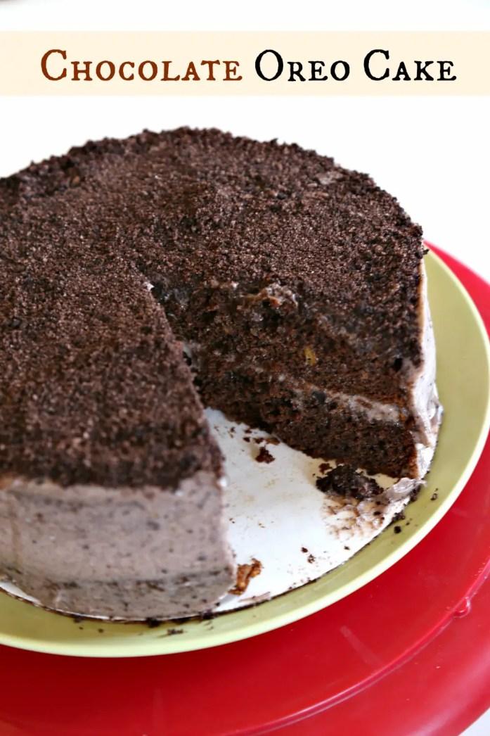Chocolate Oreo Cake 4--072117