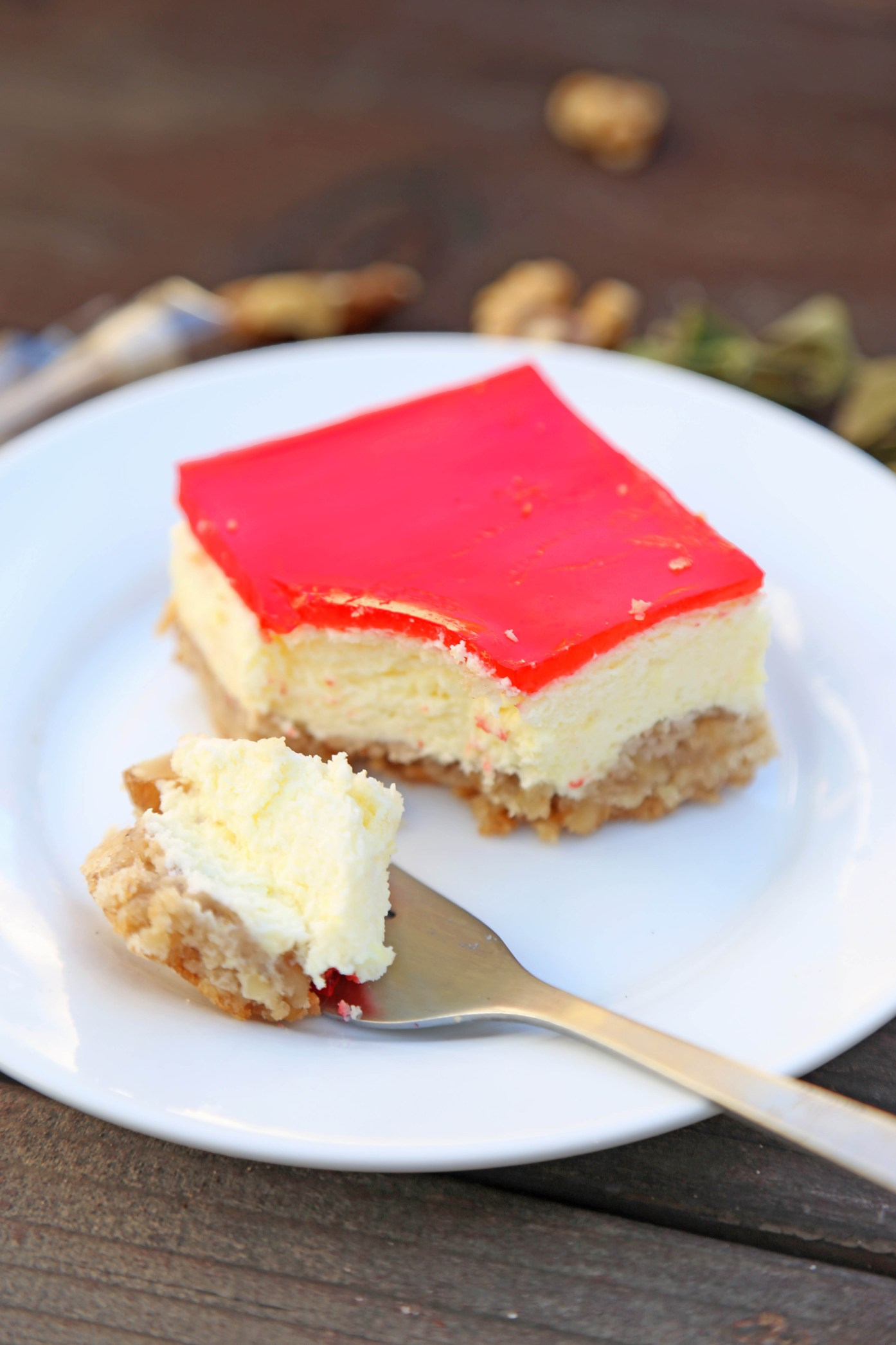 Auntie Arleen's Famous Jello Cheesecake