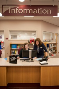 library staff members