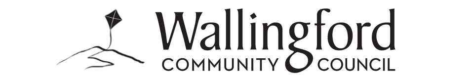 Masthead logo of the Wallingford Community Council.