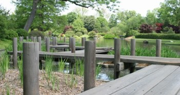 Japanese Board Walk, Shaw's Gardens, Saint Louis, Missouri