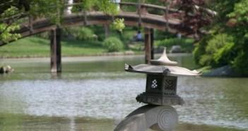 Japanese Lantern, Shaw's Gardens, Saint Louis, Missouri