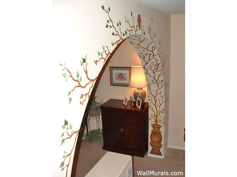 Examples Of Living Room Wall Murals Archway Murals