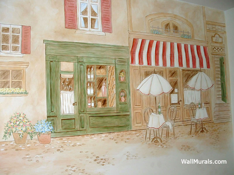 Kitchen Murals Hand Painted Kitchen Wall Murals