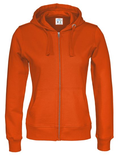 Cottover - 141009 - Full zip hood lady - Orange (290)