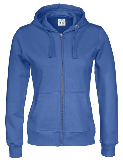 Cottover - 141009 - Full zip hood lady - Royal blue (767)