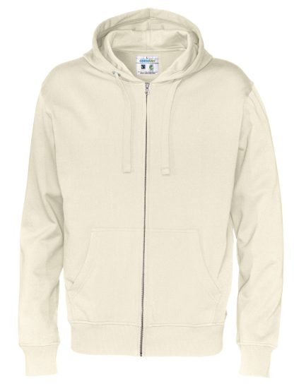 Cottover - 141010 - Full zip hood man - Off-White (105)