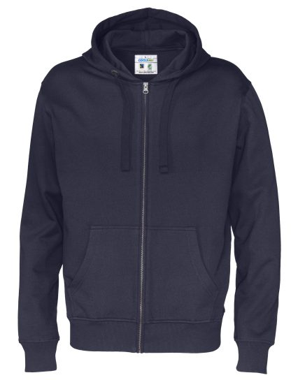 Cottover - 141010 - Full zip hood man - Marineblå (855)