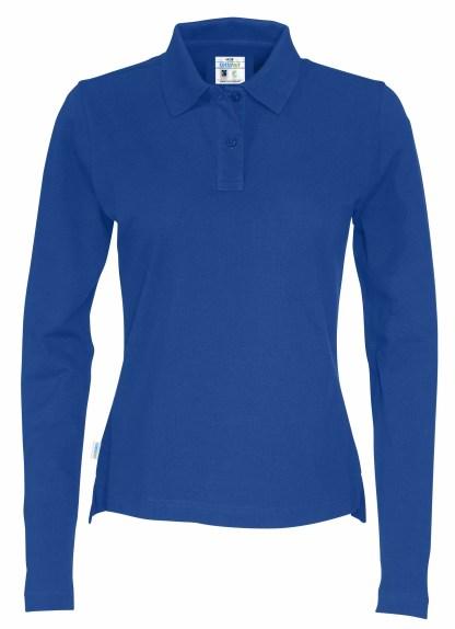 Cottover - 141017 - Pique LS Lady - Royal blue (767)