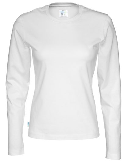 Cottover - 141019 - T-Shirt LS Lady - Hvit (100)