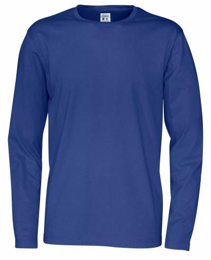 Cottover - 141020 - T-Shirt LS Man - Royal blue (767)