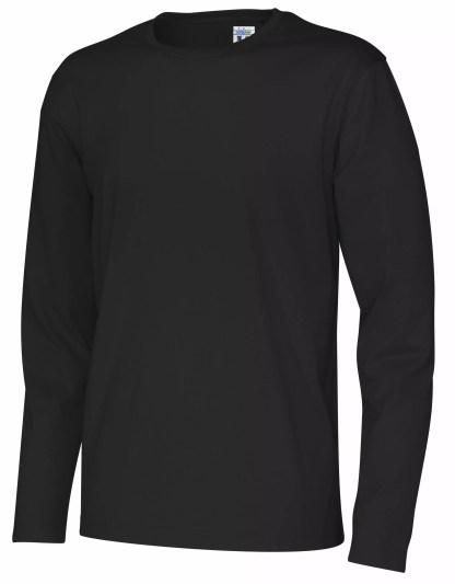 Cottover - 141020 - T-Shirt LS Man - Sort (990)