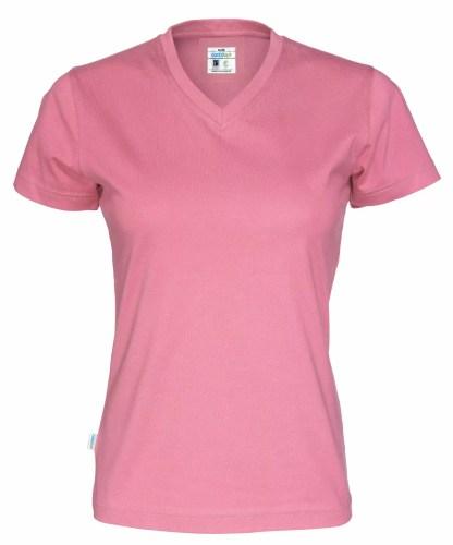 Cottover - 141021 - T-shirt V-neck Lady - Rosa (425)