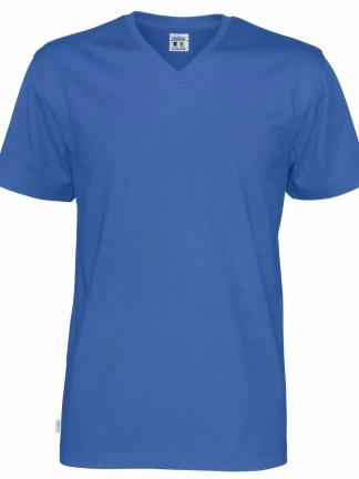 Cottover - 141022 - T-shirt V-neck Man - Royal blue (767)