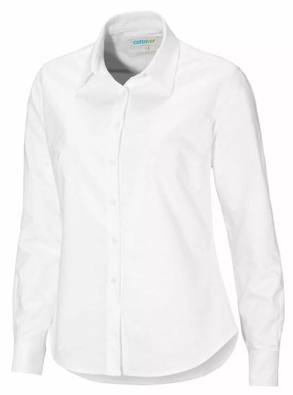 Cottover - 141031 - Oxford Shirt Lady - Hvit (100)