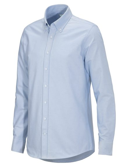 Cottover - 141032 - Oxford Shirt Slim Fit Man - Lys blå (716)