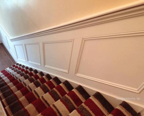 wainscoting-stairway-flatpanel