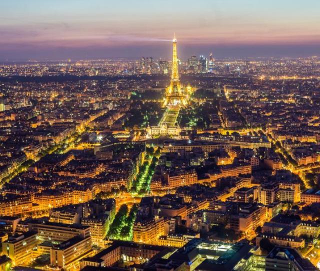 Eiffel Tower Tower Paris Lights Buildings Night Hd Wallpaper