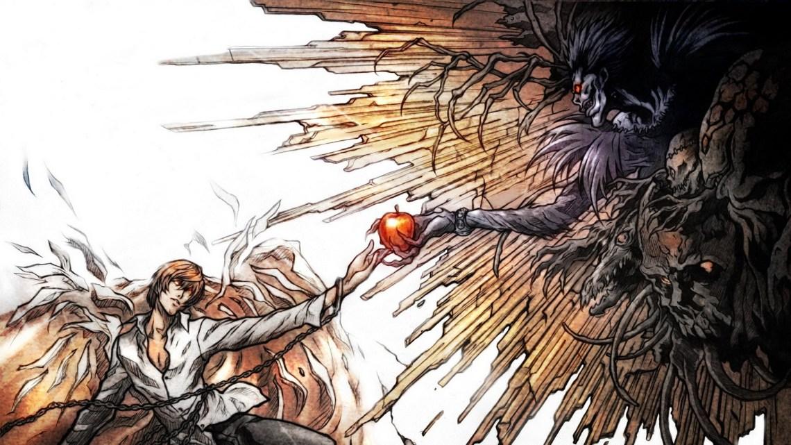 Death Note Light Yagami Ryuk Anime Anime Guys Wallpaper Anime Wallpaper Better