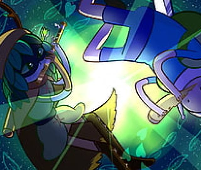 Green And Blue Tmnt Print Textile Adventure Time Finn The Human Huntress Wizard