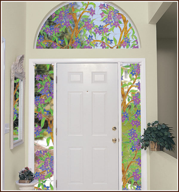biscayne stained glass window film see through