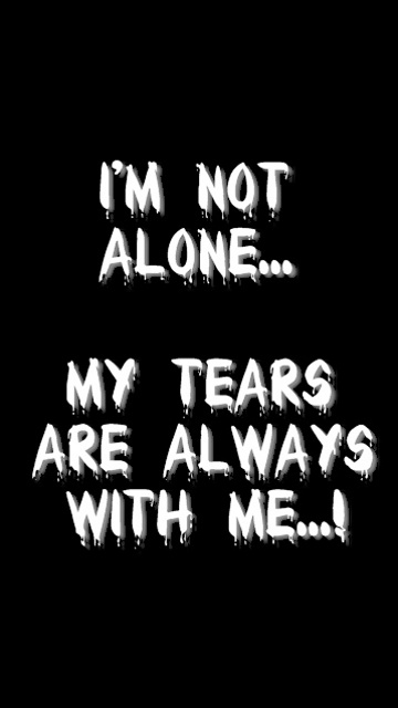 I M Not Alone Saying Quote Wallpapers For Your Mobile