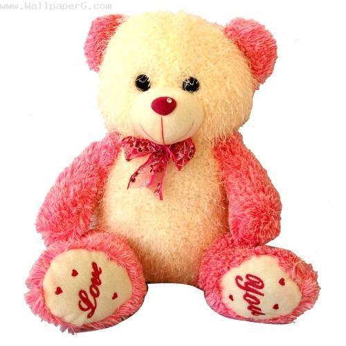 Cute Pink Teddy Bear Wallpapers For Desktop Labzada Wallpaper