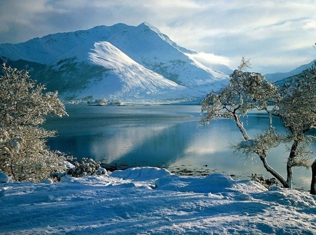 snowy mountains australia