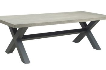Cement Outdoor Table