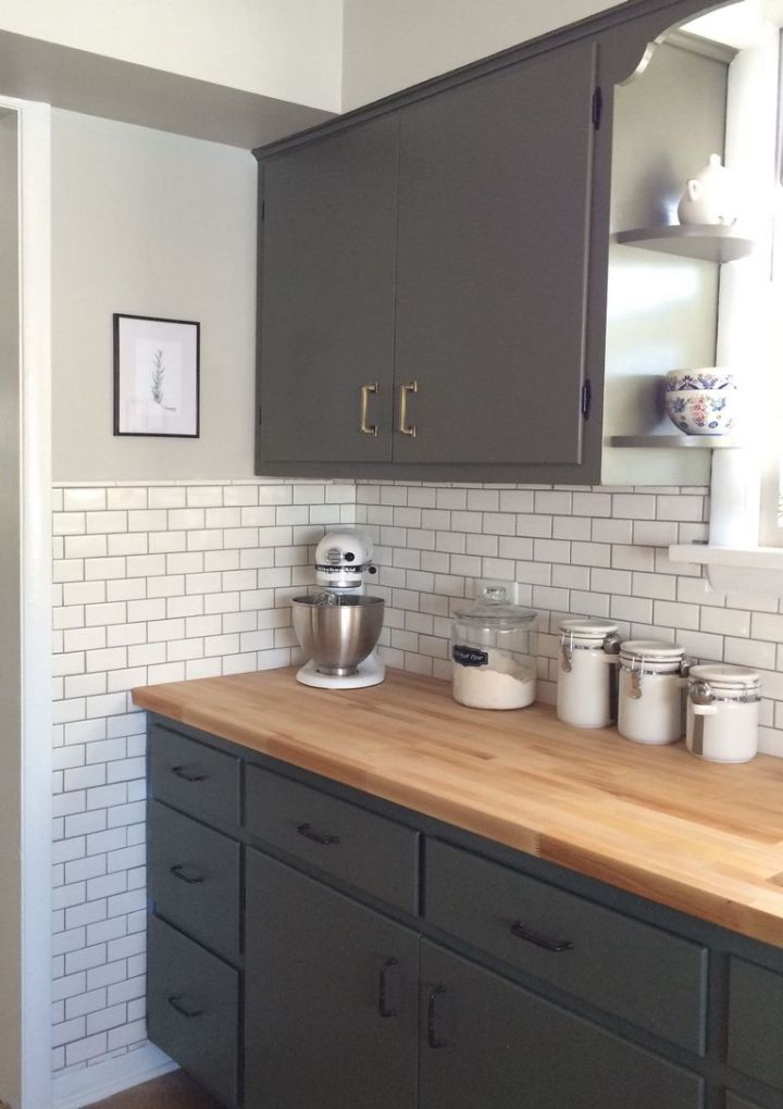 Dark Green Subway Tile