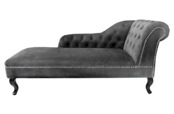 Grey Chaise Lounge