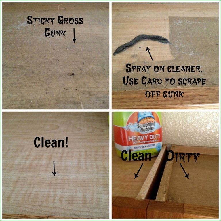 How To Clean Sticky Grease Off Kitchen Cabinets