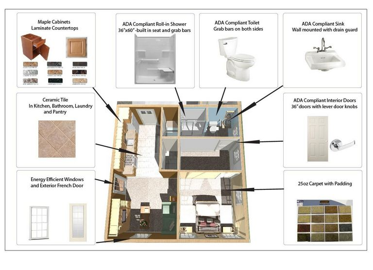 In Law Apartment Plan