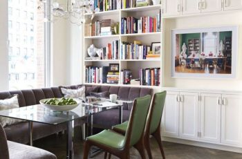 Kitchen Corner Banquette Seating