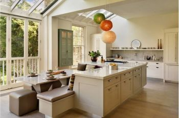 Kitchen Island With Bench Seating And Table